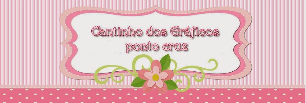 CANTINHO DOS GRÁFICOS PONTO CRUZ