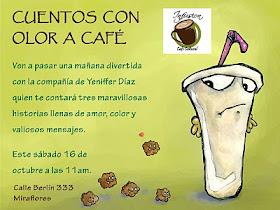 """""""Cuentos con olor a café"""""""