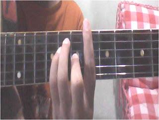 Perbedaan dengan G# adalah posisi fretnya saja Chord Kentrung Senar 3 Lagu