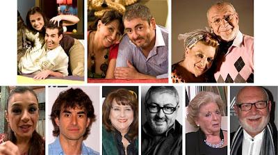 Daniel Muriel, Miren Ibarguren, Soledad Mallol, David Venancio Muro, Pepe Ruiz, Marisa Porcel