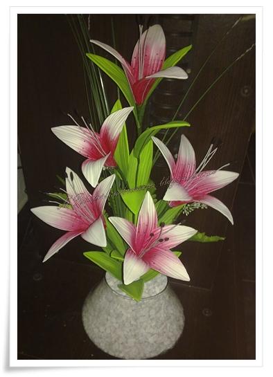 O Fazer Flores Em Eva Po A Po Do Lirio Asiatico Em E V A
