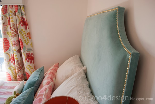 DIY Ikea Sanela upholstered headboard