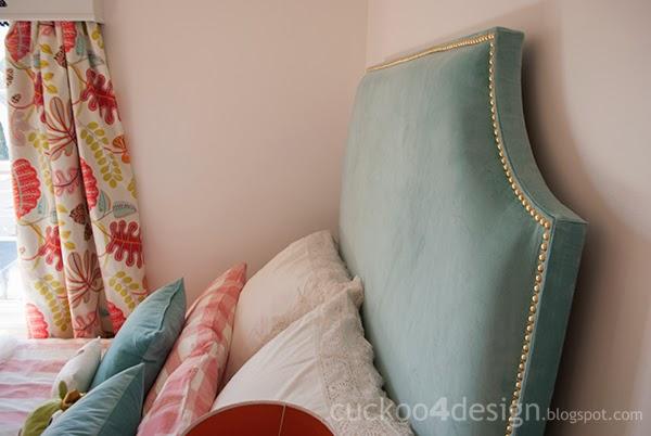 DIY Ikea Sanela upholstered headboard
