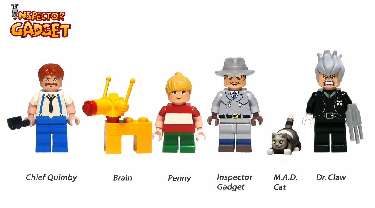 Worksheet. Inspector Gadget Blog Fan AdelanteGadgetoblog Propuesta de Lego