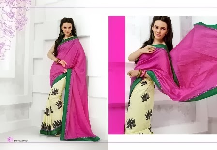 Elegant Style of Silk Saree Blouse