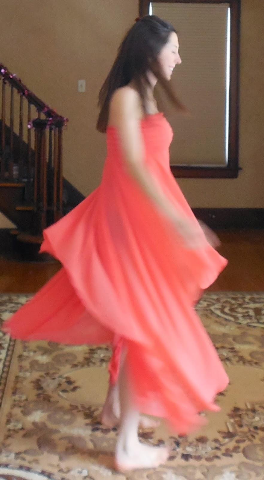 Jordan Taylor Sherbet Flutter Dress