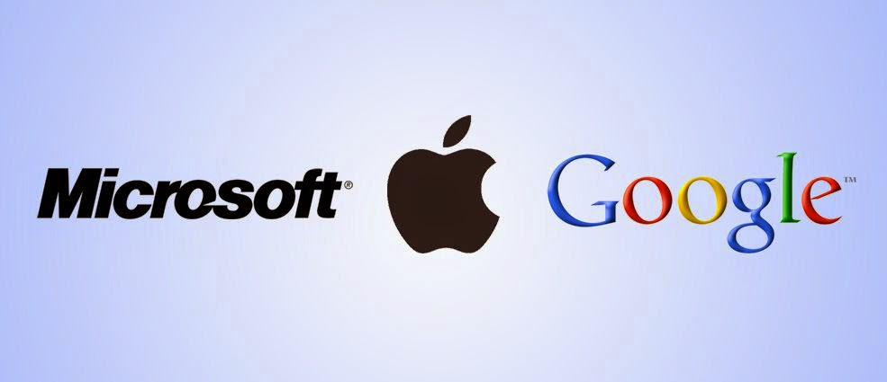 The world's first Apple excels on Google and Microsoft