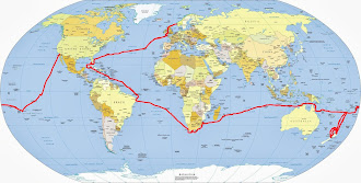 Route of Sailboat Twister