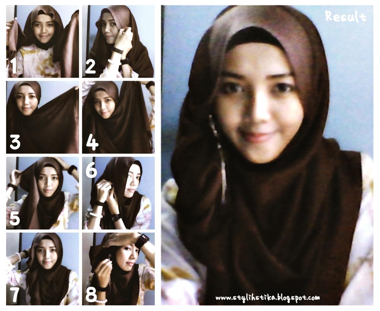 Modern Hijab Styles Tutorial Tutorial hijab paris 2013