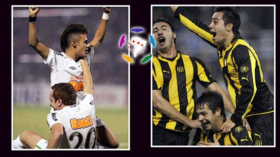 Santos vs Peñarol, Final Copa Libertadores 2011