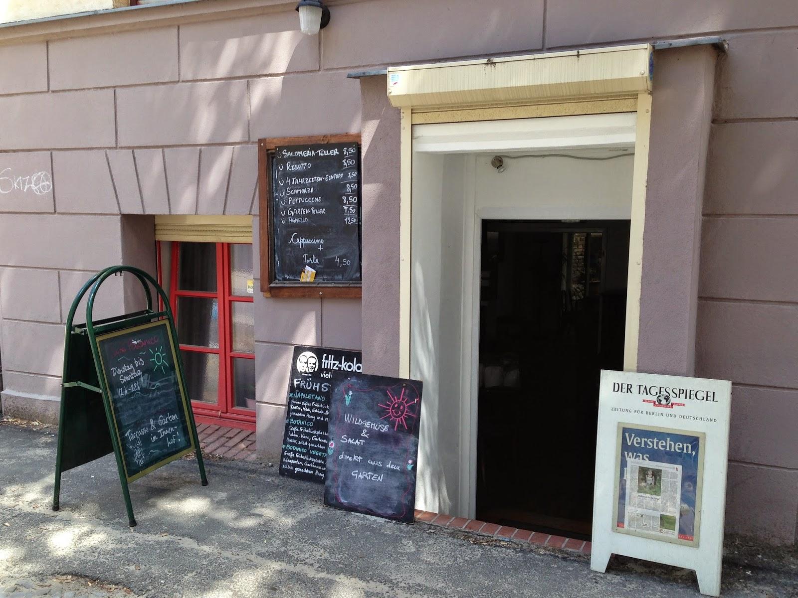 Frukost på Café Botanico