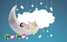 Letícia brincando no Céu