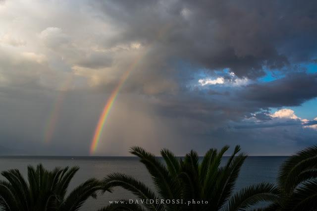 Promontorio del Circeo - Doppio arcobaleno