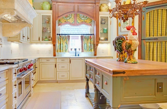 Rideaux cuisine rideaux et voilages - Rideaux de cuisine originaux ...