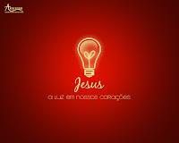 Imagem de jesus a luz em nosso corações