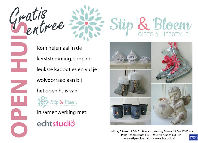 Open Huis Stip & Bloem