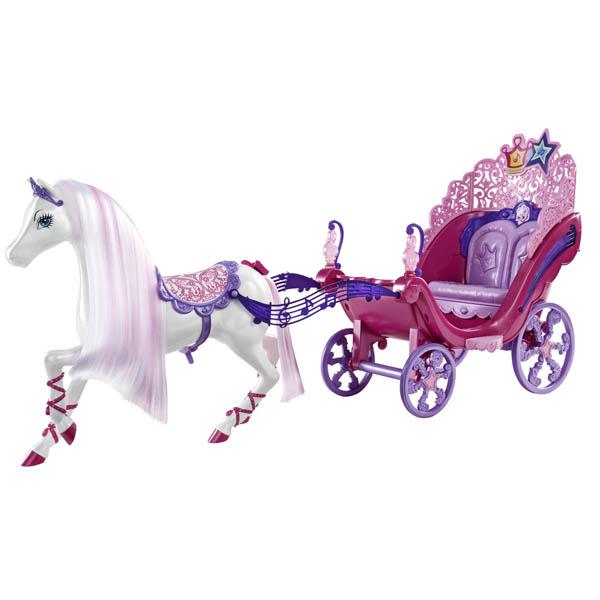 Barbie: Carroza de Barbie en la Princesa y la Estrella del Pop