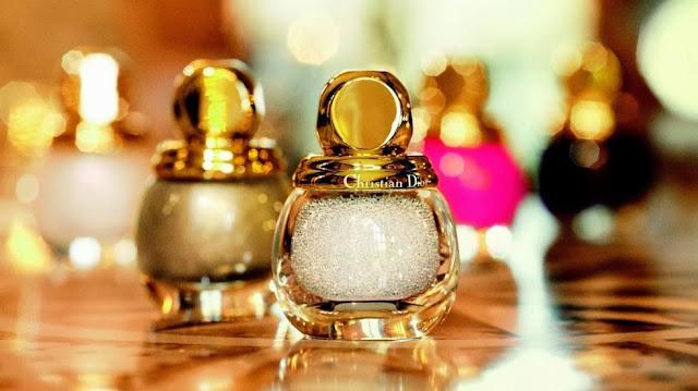 DIOR Natale 2013 Golden Winter Collection make up Diorific lipstick Diorific vernis Diorific Duo Manicure Bijou Diorific Parfumed Illuminating Powder Rose d'Or