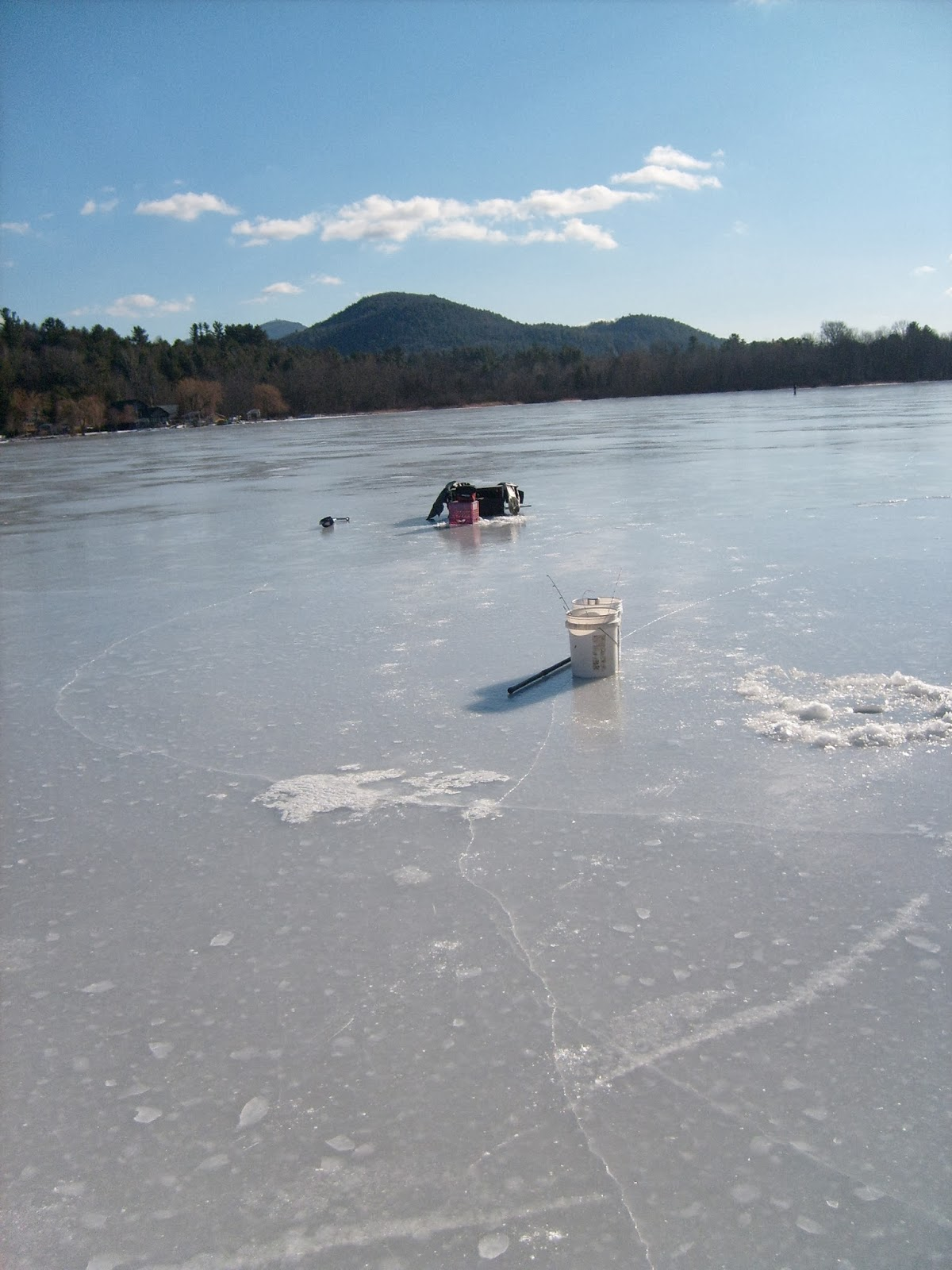 Guided Vermont Ice Fishing Trips Vermont Ice Fishing 2014