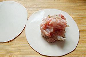 Cassava Vermicelli Soup with Egg Wonton (Miến với Hoành Thánh Trứng) 2