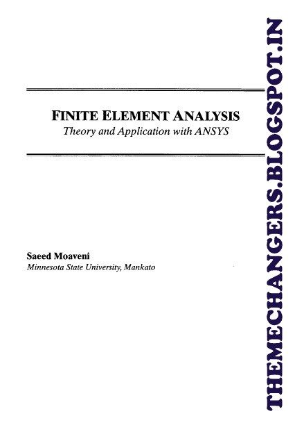 finite element analysis saeed moaveni solution manual pdf