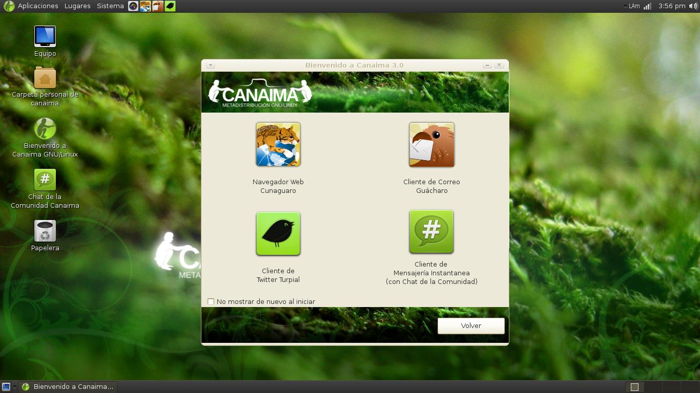 sistema operativo canaima hecho en venezuela