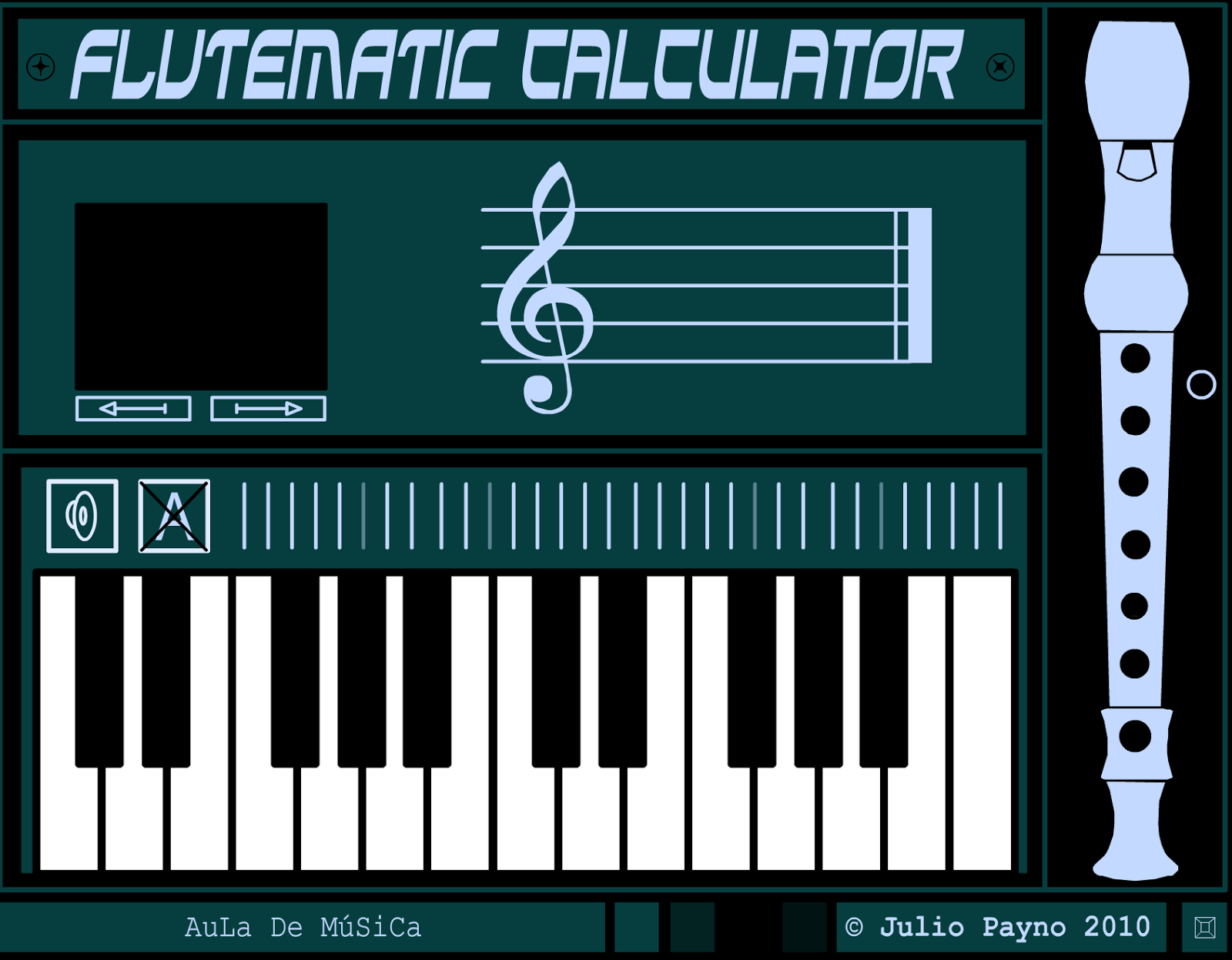 Flutematic Calculator