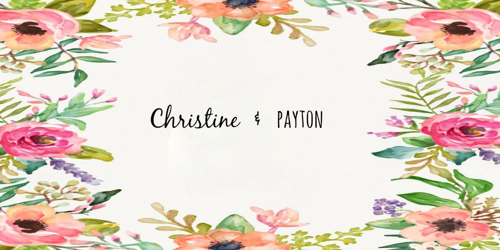 Christine {&} Payton