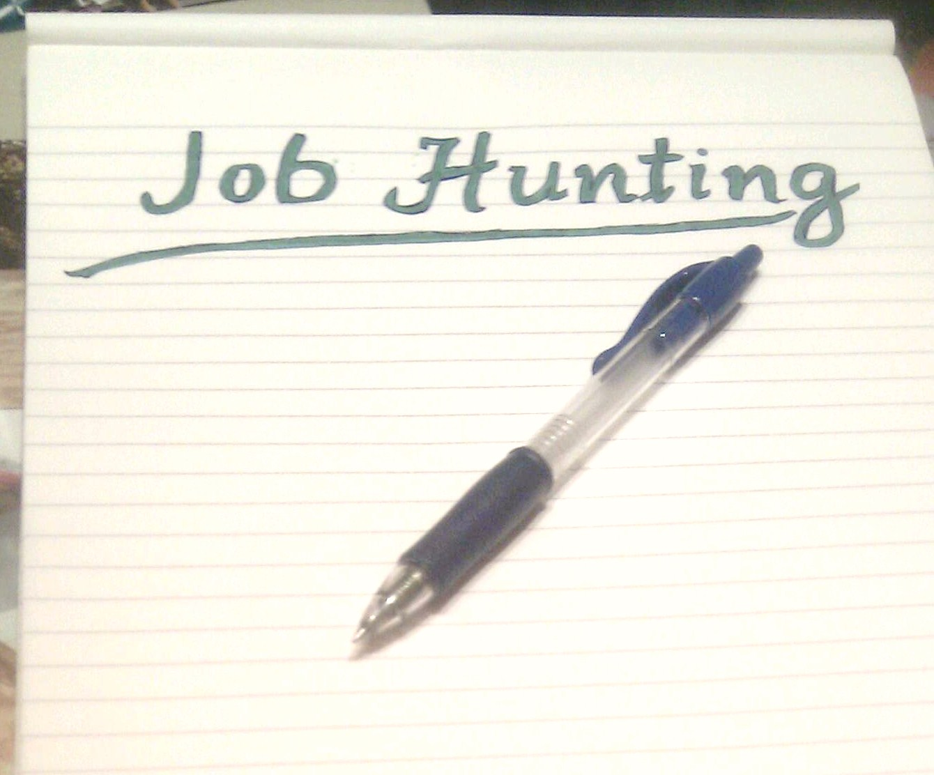 essay about job hunting