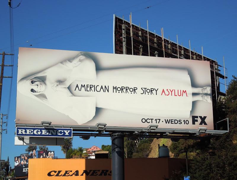 American Horror Story Asylum FX billboard