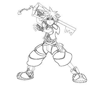 #1 Sora Coloring Page