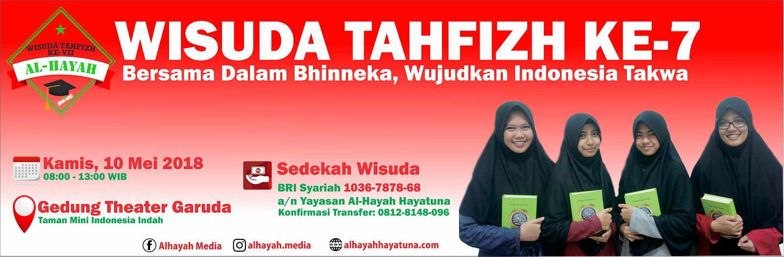 SELAMAT DATANG DI WEBSITE AL-HAYAH