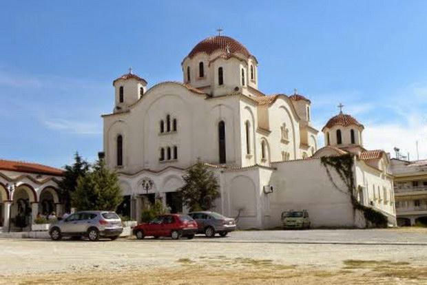 Εγκαίνια Ιερού Ναού Αγίου Βασιλείου Αλεξανδρούπολης