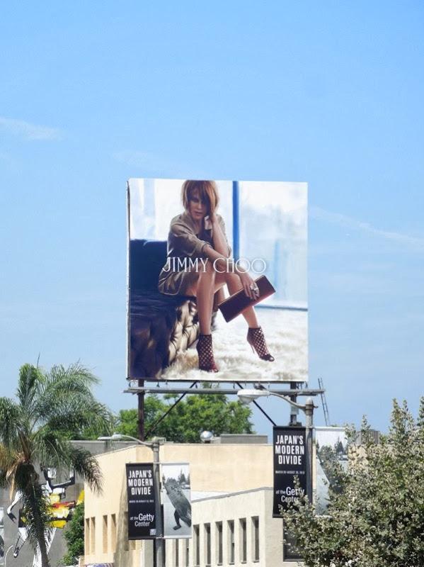 Jimmy Choo Nicole Kidman FW 2013 billboard