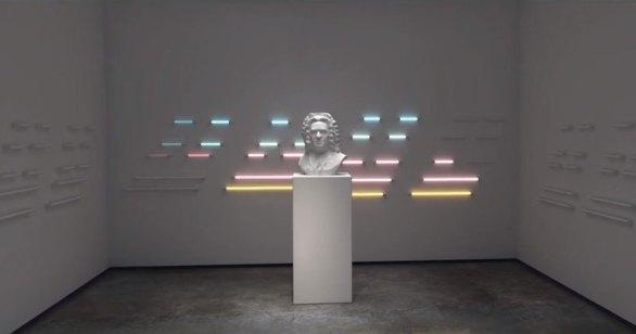 Increíble conjunto de efectos visuales para Johann Sebastian Bach