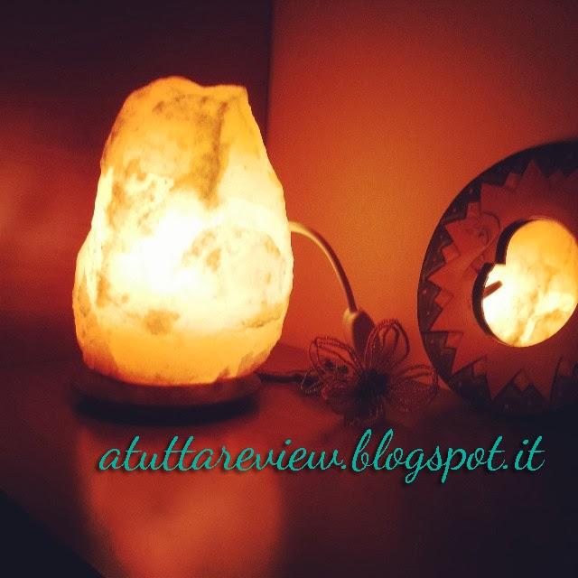 Aurora Boreale - Luci e colori della mia vita: Lampada di sale dell Himalaya
