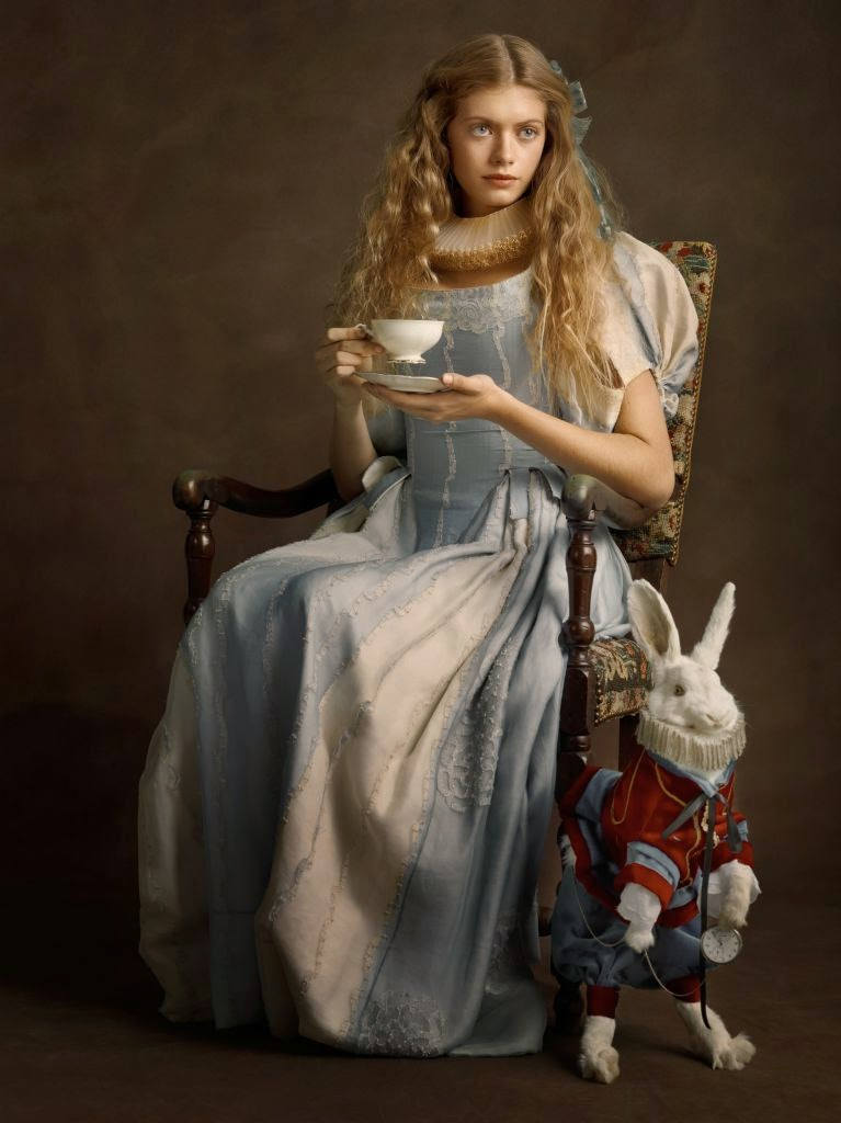 24-Alice-and-the White-Rabbit-Sacha-Goldberger-Superheroes-in-the-1600s-www-designstack-co