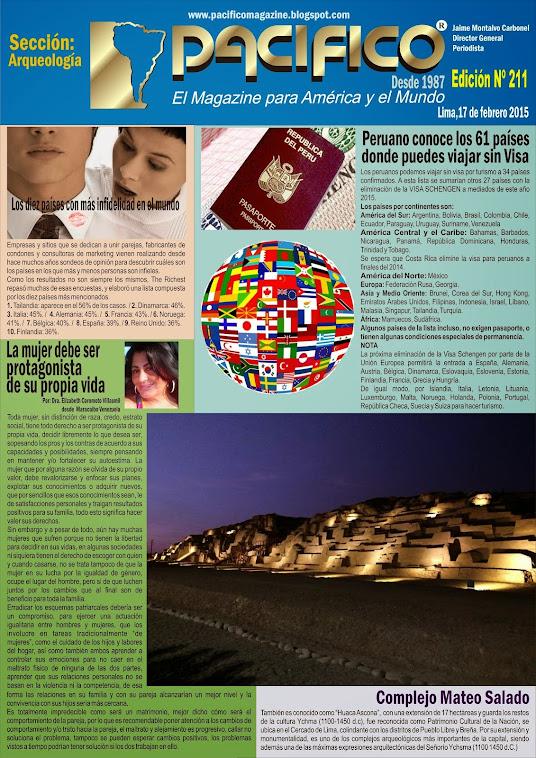 Revista Pacífico Nº 211 Arqueología