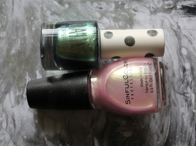 Topshop Eclipse and Sinful Colors You Just Wait
