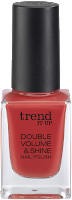 Preview: Die neue dm-Marke trend IT UP - Double Volume & Shine Nail Polish 150 - www.annitschkasblog.de