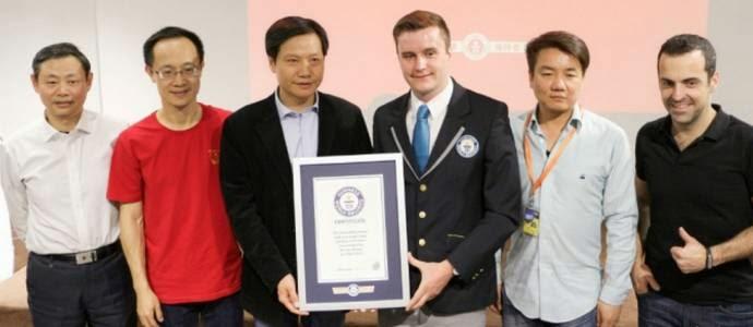 rekor penjualan smartphone terbanyak xiaomi