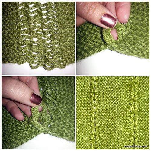 Knitting Dropped Stitch Help : Free Crochet Patterns By Cats-Rockin-Crochet