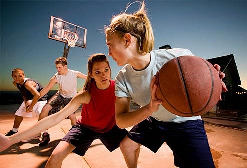 bermain basket