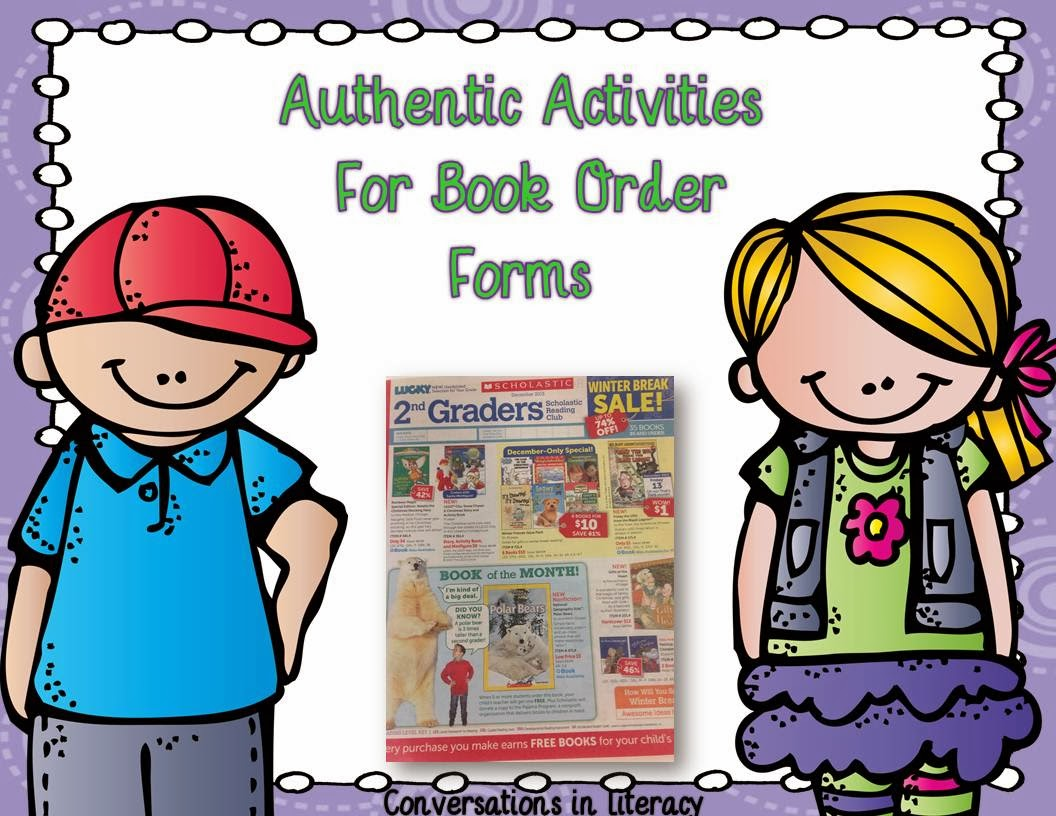 authentic activities to do with book orders