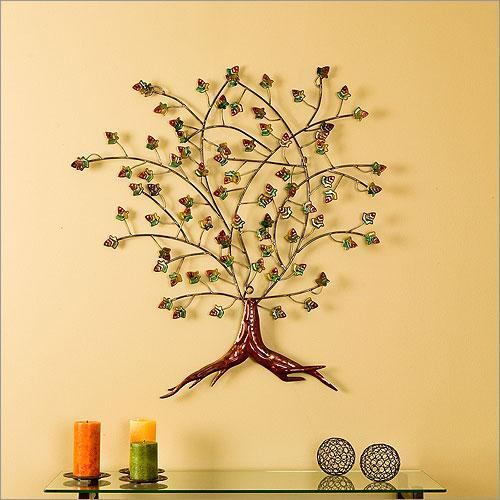 Wall art metal home wall decor ideas Home decor sculptures