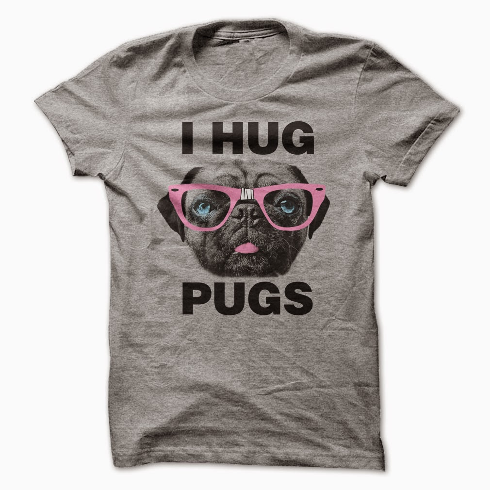 Pug hugs are the best hugs t shirt bet seller funny