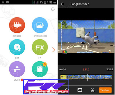 aplikasi edit video android terbaik vivavideo