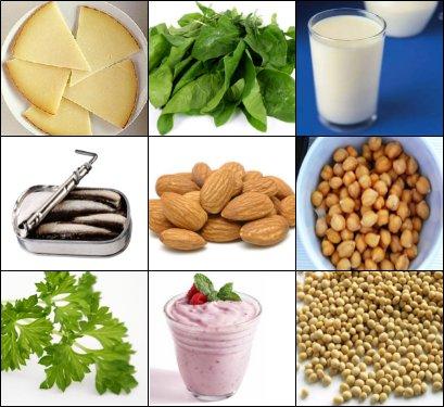 La solana salud comunitaria octubre 2013 - Alimentos que tienen calcio ...