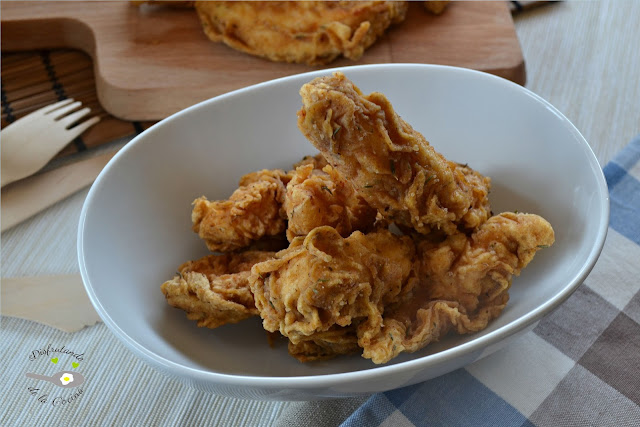 POLLO AL ESTILO KENTUCKY FRIED CHICKEN