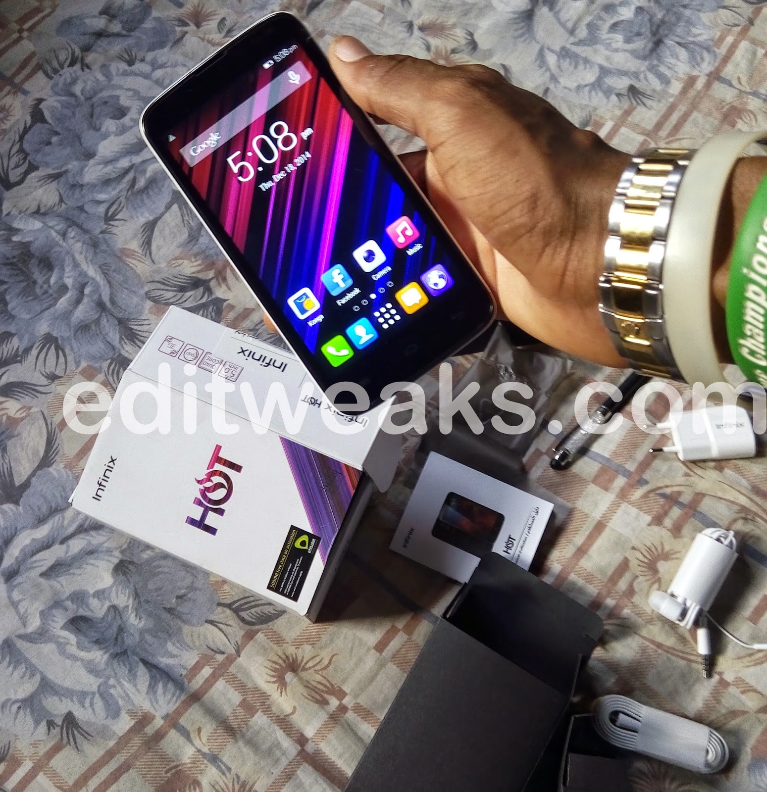 Infinix Hot X507 Hands on